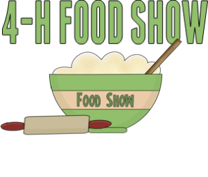 4h holiday area food show