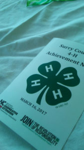 Cover photo for Surry County 4-H Holds Awards Program