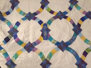 Gloria Bryant's quilt won first place in the hand-pieced quilting category at the state cultural arts competition.