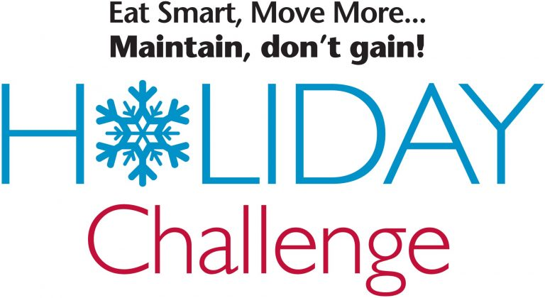 Eat Smart, Move More, Maintain, Don't Gain Holiday Challenge logo