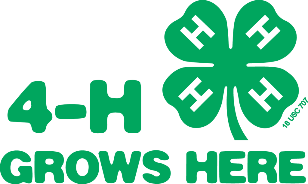 4-H Grows Here logo image