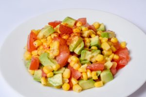 Picture of an avocado salad from Med Instead of Meds