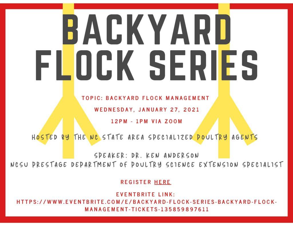 Backyard Flock Series - Flock Management Flyer