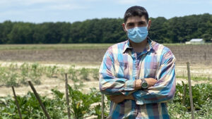 Learn about the Department of Health and Human Services and NC State Extension's COVID-19 Farmworker Vaccination Plan.