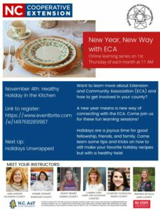 Cover photo for New Way With ECA: Holidays Unwrapped
